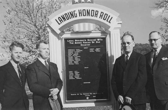 Landing NJ World War Two Honor Roll