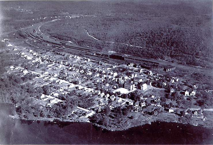 Overview of Port Morris, New Jersey circa 1940