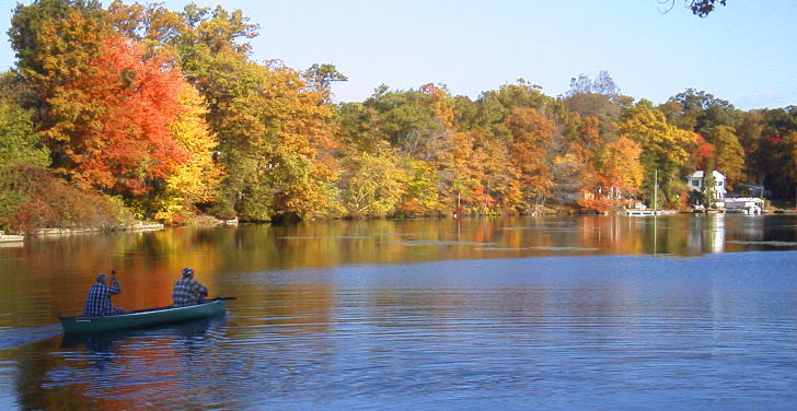 Lake Hopatcong Autumn Scenic