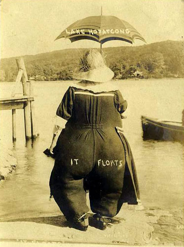 Novelty Humor Postcards from Lake Hopatcong, NJ